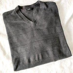 Van Heusen Grey V-Neck Sweater
